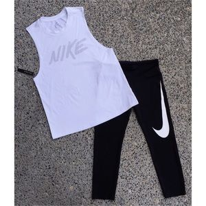 Nike Bundle Tank, Capri Tights